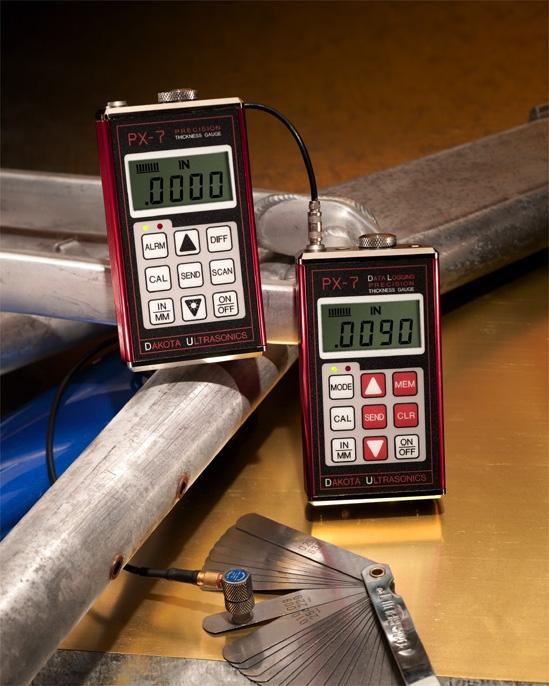 PX-7 DL Thiết bị siêu âm đo độ dày tôn